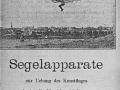 VerkaufsanzeigeSegelapparatLilienthal1895
