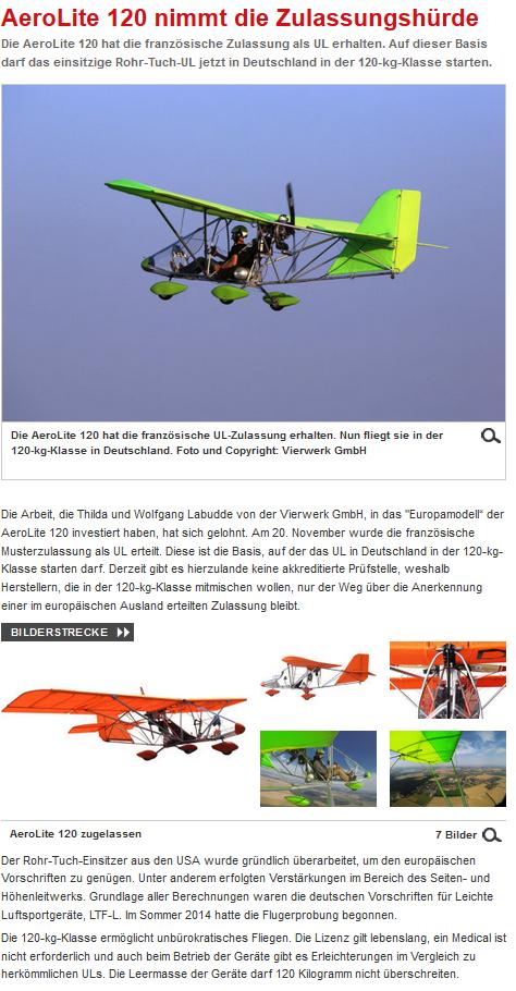 AeroKurier über AL 120