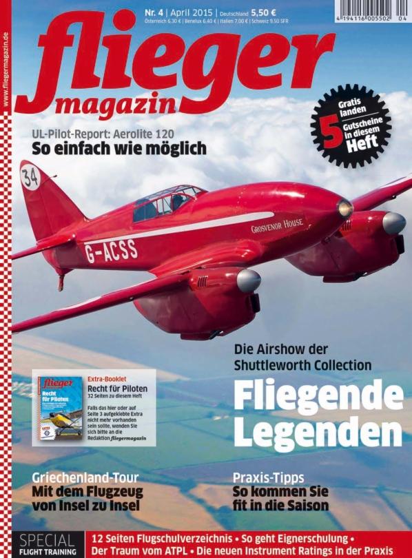 Fliegermagazin Ausgabe  4-2015