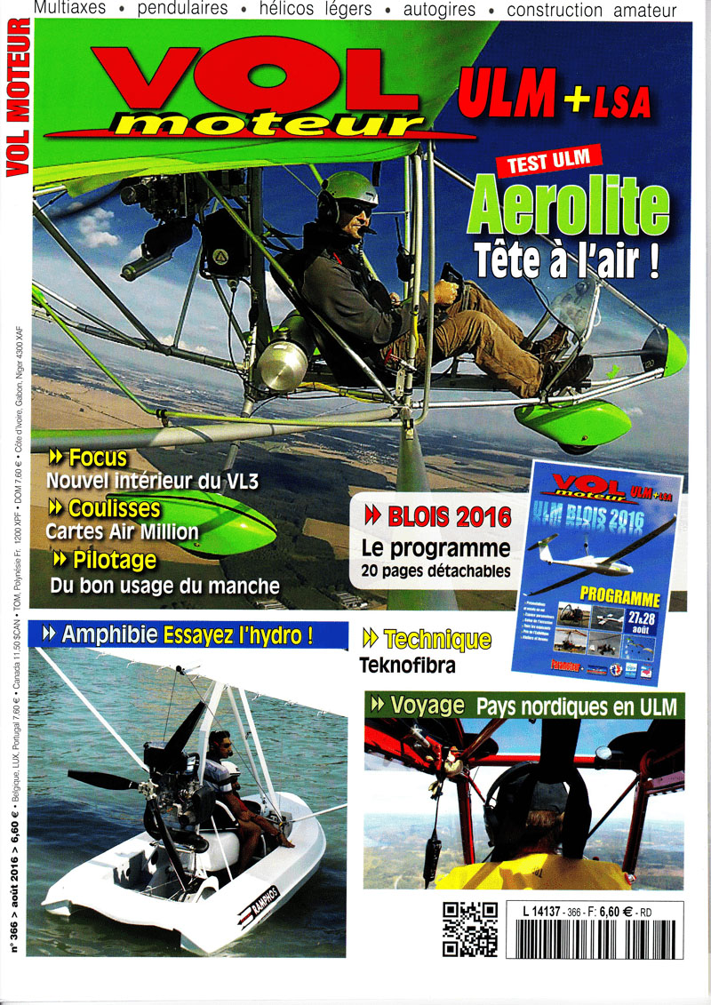 Magazine Vol Moteur