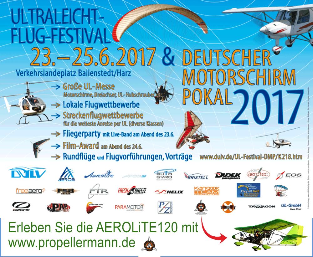 UL - Festival und Deutscher Motorschirm Pokal 2017