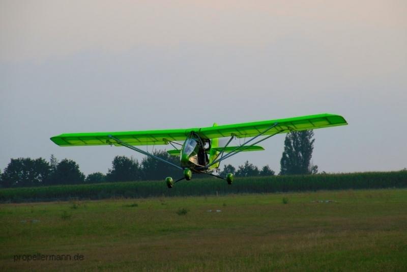 Landanflug
