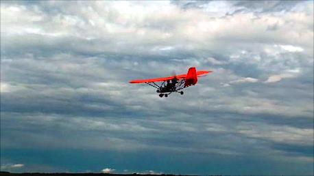 AEROLiTE 120 im Anflug