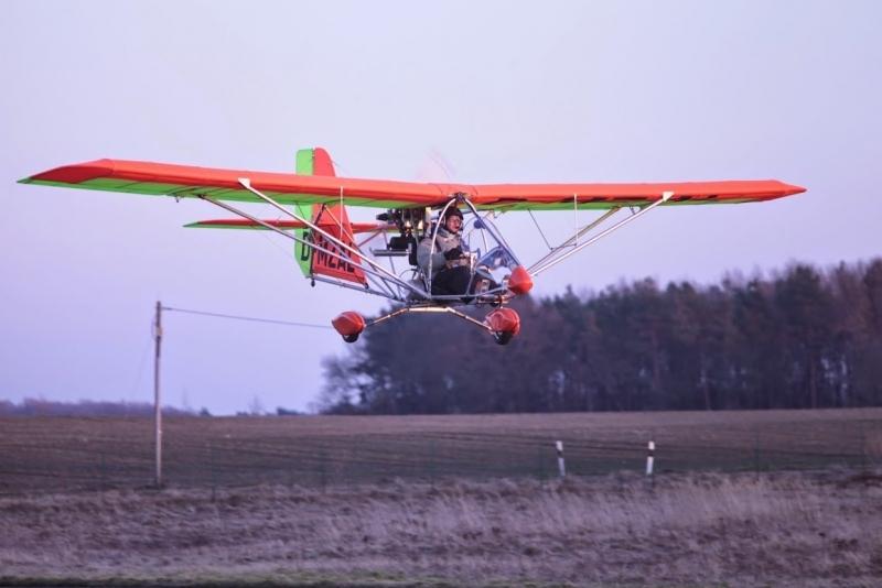 AEROLiTE 120 Landeanflug