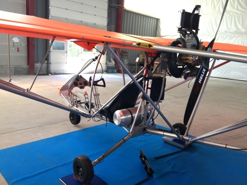Aerolite 120 mit Polini Thor 250 DS