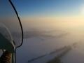 AEROLiTE120-Winterflug-Sonnenuntergang