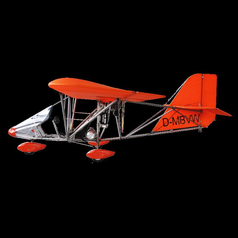Die Struktur besteht aus Luftfahrtaluminium (6061 T6), Blindnieten nach definierter Scher- und Zugfestigkeit gemäß Datenblatt, zertifizierte AN Verschraubung